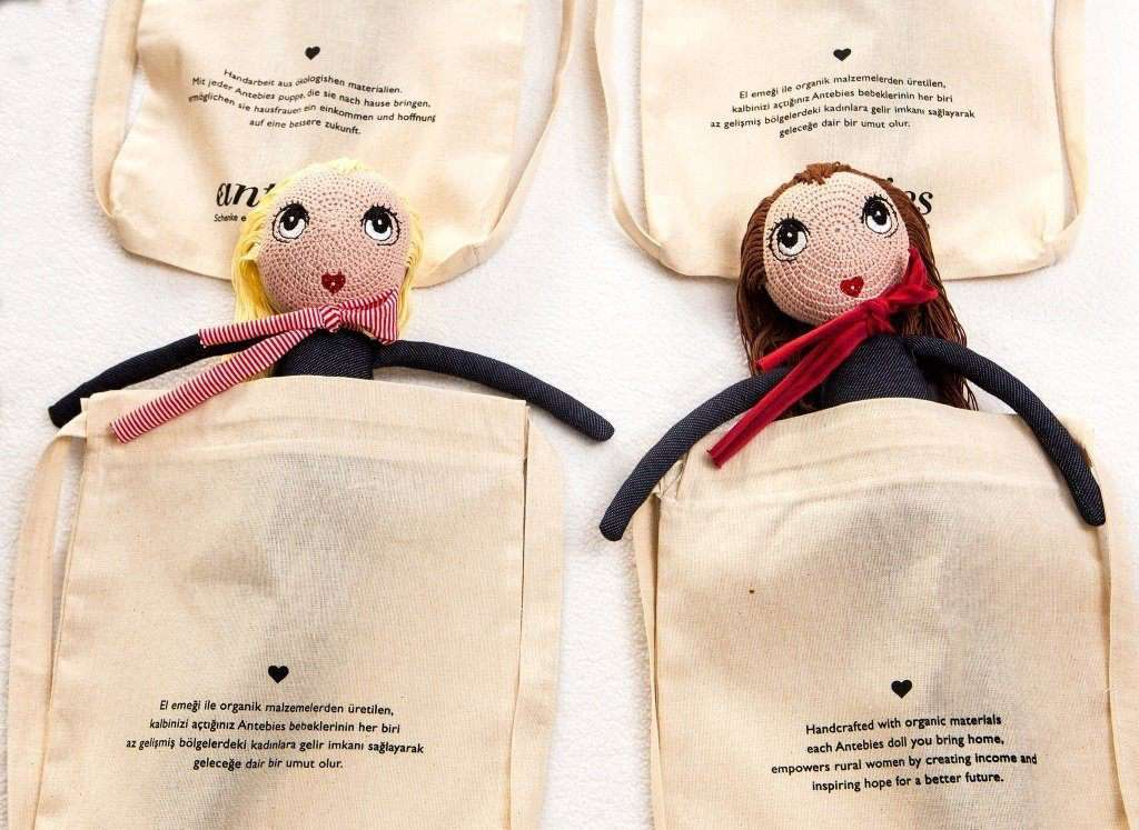 Hope or Joy Doll - Handcrafted Organic Cotton - Choulala Box