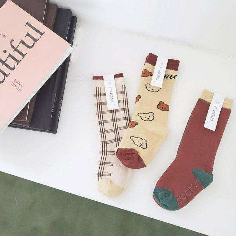 Knee Socks (set of 3) - Choulala Box
