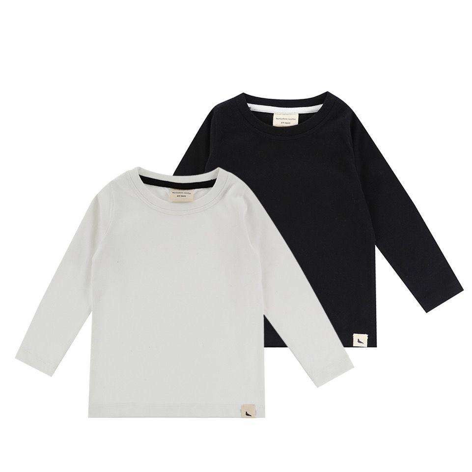 Layering Top - Ecru/Black (2 pack) - Choulala Box