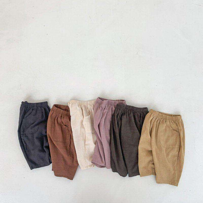 Long Fit Cotton Shorts - Choulala Box