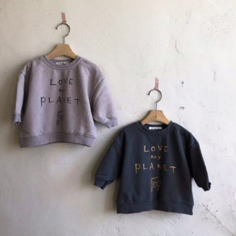 Love My Planet Kids Sweatshirt - Choulala Box