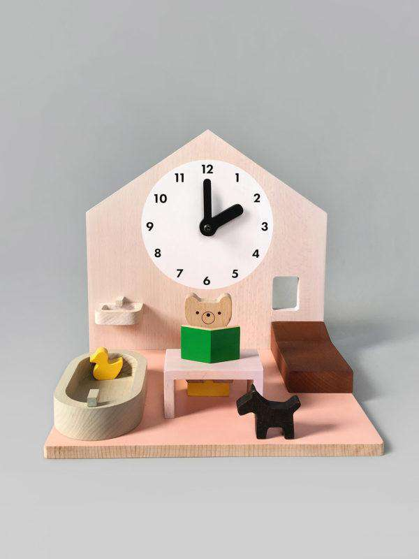 Make My Day Routine Playset Cozy Wooden house