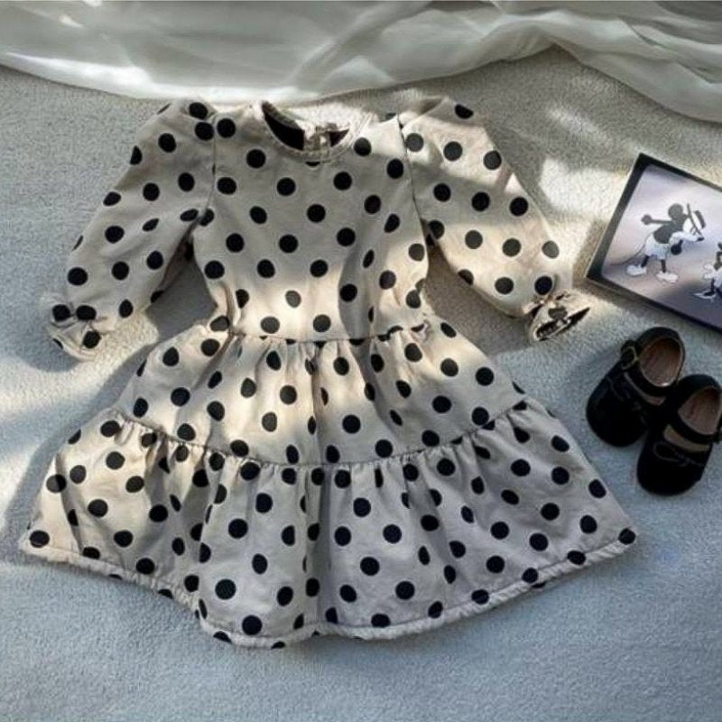 Mommy 'n Me Polka Dot Dress - Choulala Box