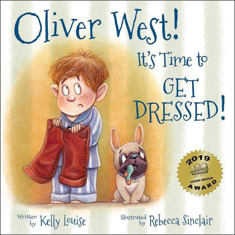 Oliver West! It's Time to Get Dressed! (Multiple Award Winning Book) - Choulala Box