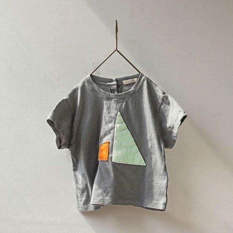 Patch Cotton T-shirt - Choulala Box