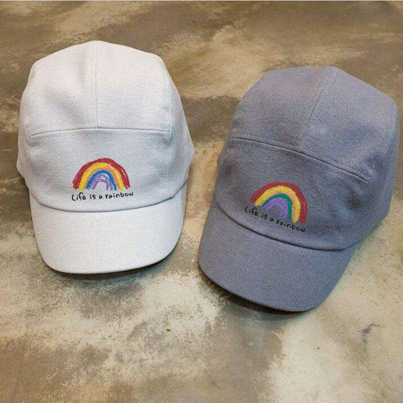 Rainbow Baseball Cap - Choulala Box