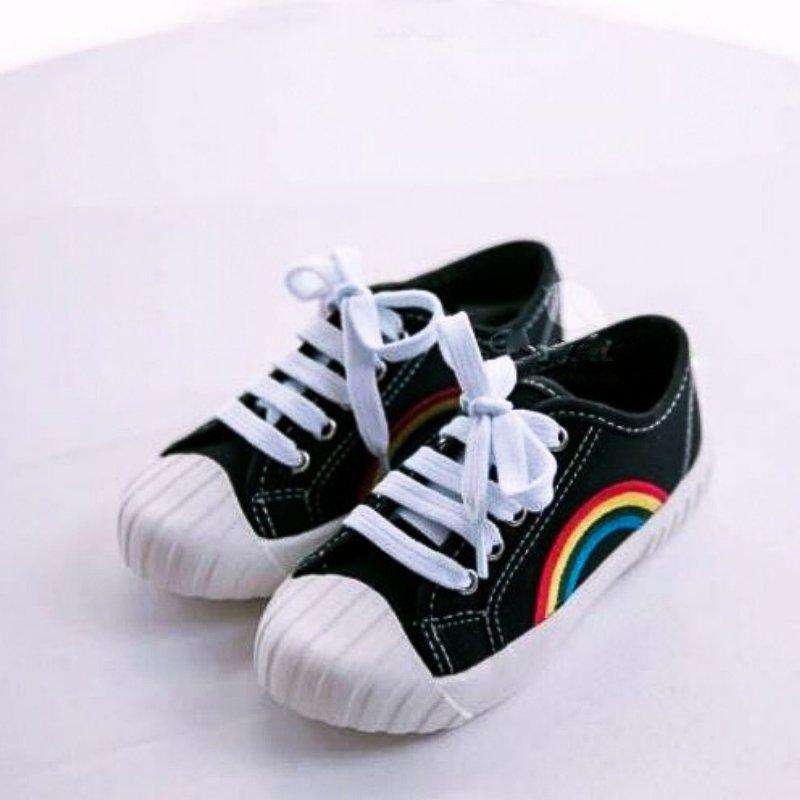 Rainbow Canvas Sneakers - Choulala Box