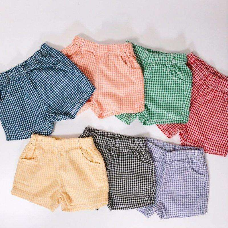 Rainbow Checkered Shorts - Choulala Box