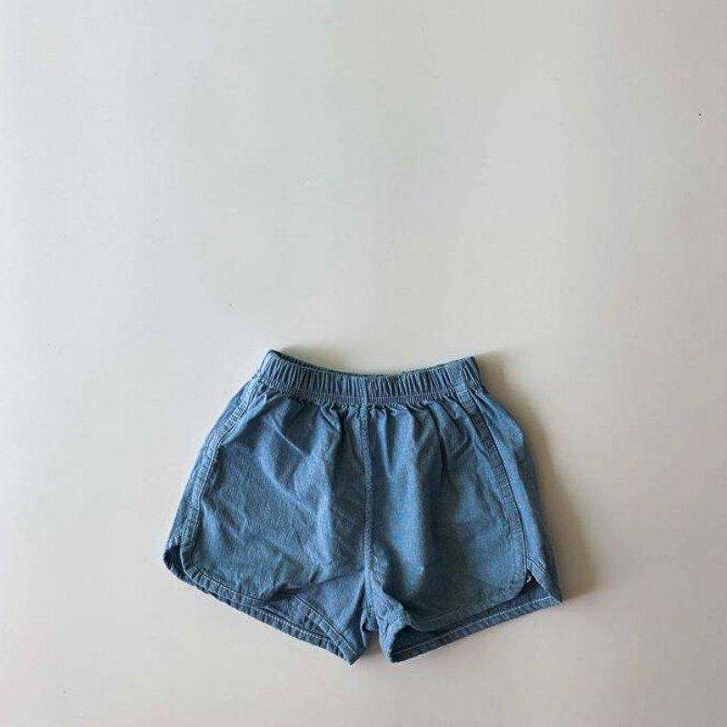 Retro Denim Cotton Shorts - Choulala Box