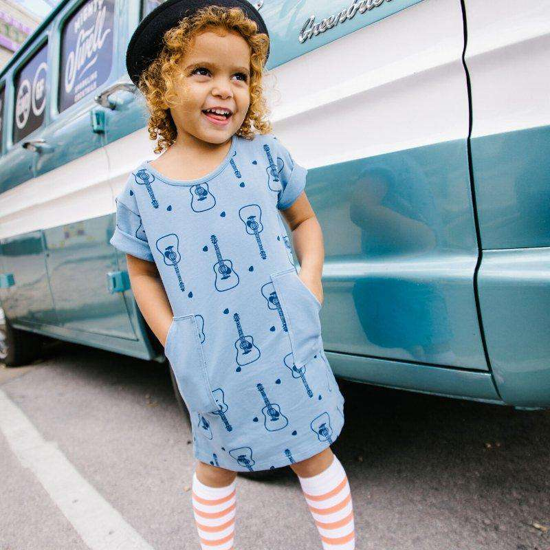 Rock 'n Roll Organic Cotton Dress - Choulala Box