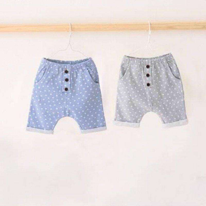 Star Button Cotton Shorts - Choulala Box