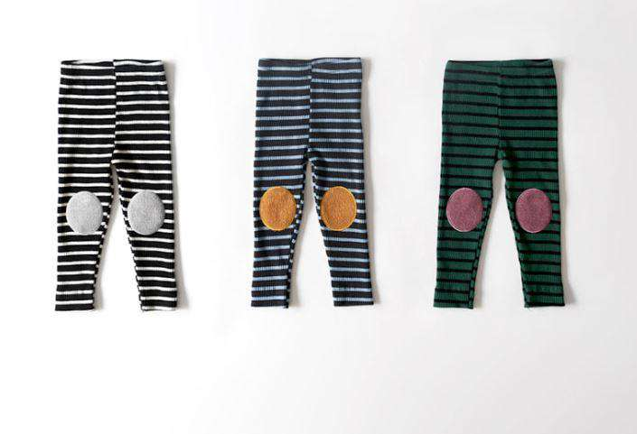Stripe Patch Leggings - Choulala Box