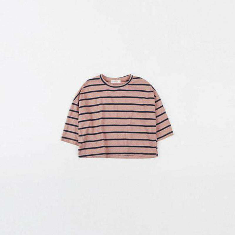 Striped Loose Fit Tee - Choulala Box