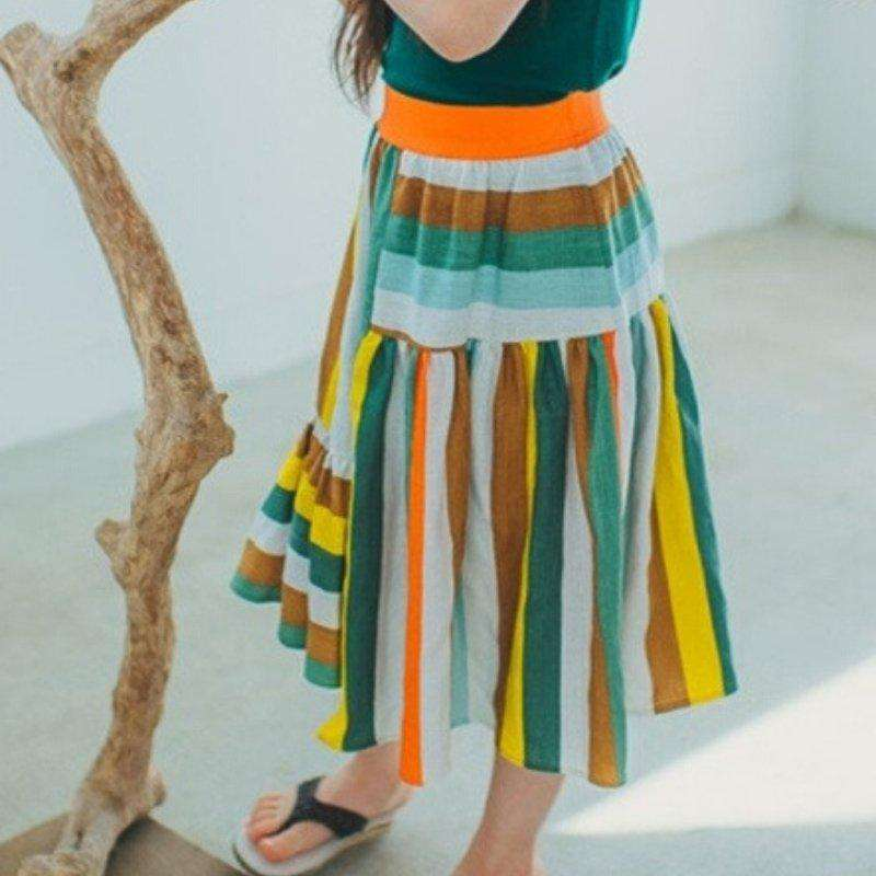 Wide-cut Maxi Skirt - Choulala Box