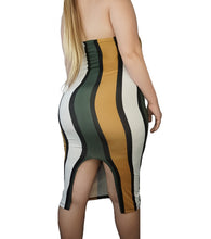 Load image into Gallery viewer, The Color Block Tube Dress