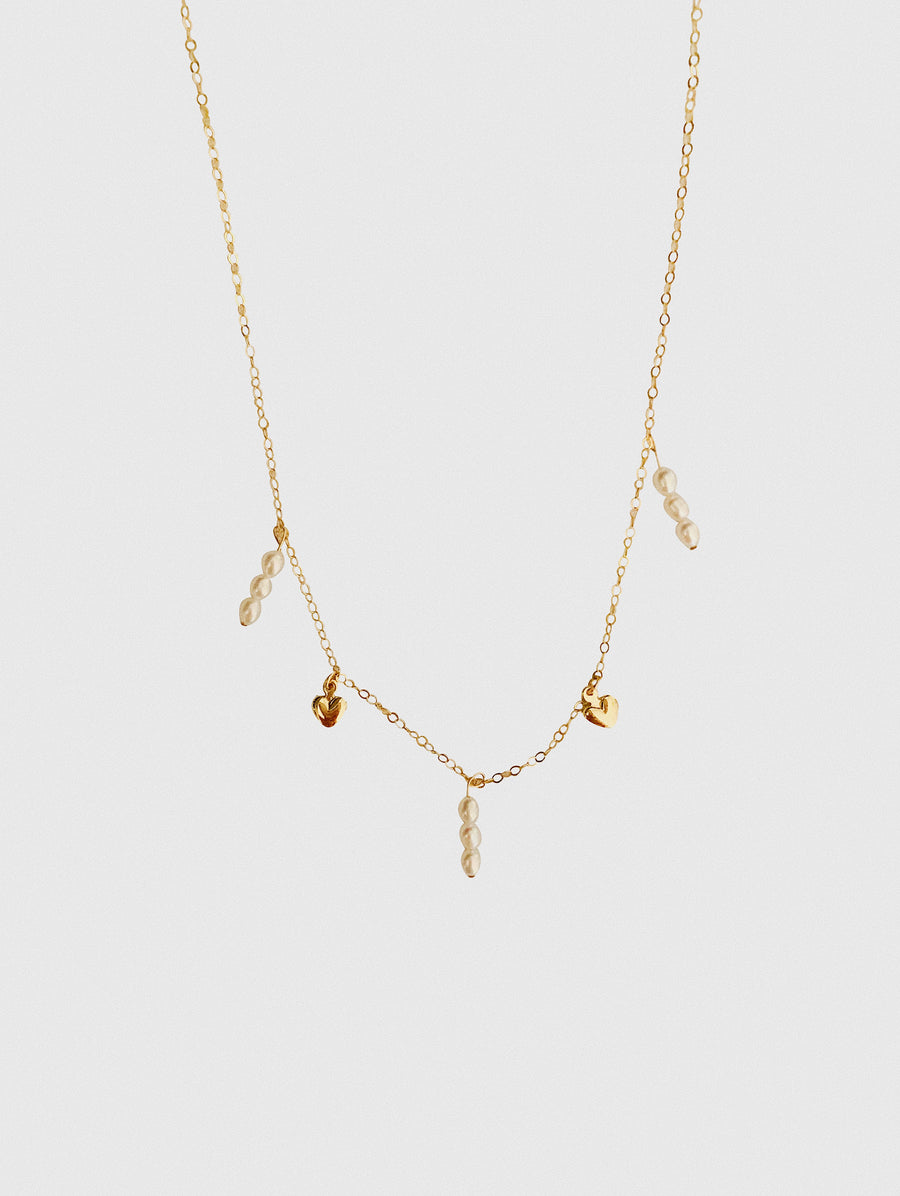 ETTIE MINI PEARL NECKLACE