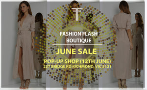 POP-UP SHOP SALE 12TH JUNE 2016