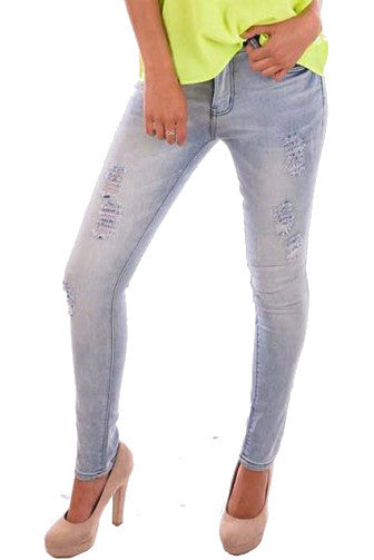 Rip It Up Denim Jeans - Fashion Flash Boutique