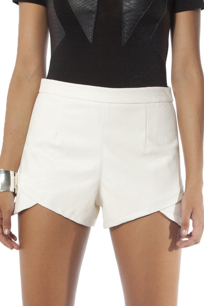 Cosmic Shorts - White - Fashion Flash Boutique