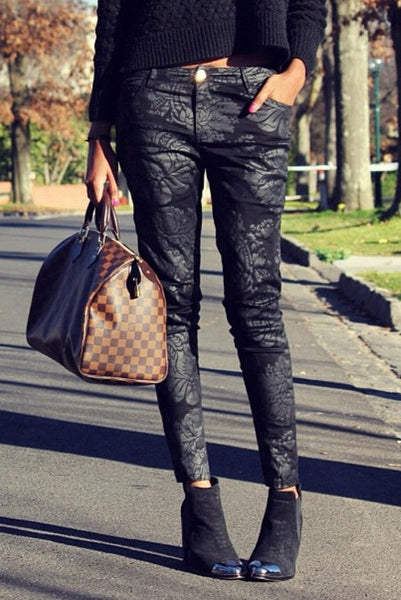 BAROQUE BABE PANTS - Fashion Flash Boutique
