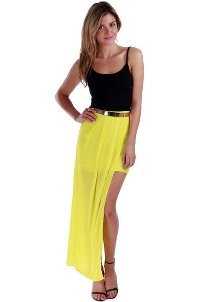 Insight Maxi Skirt - Fashion Flash Boutique