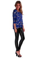 Emporium Cobalt Blue Knit - Fashion Flash Boutique