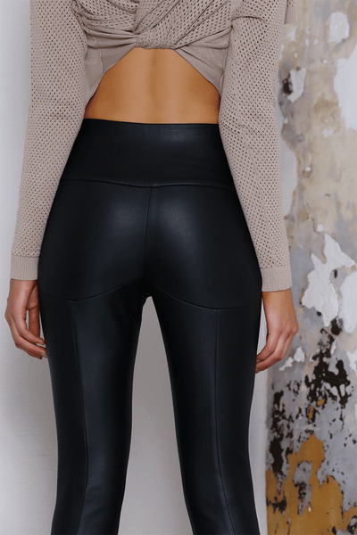 RAIDER LEATHERETTE PANTS - Fashion Flash Boutique