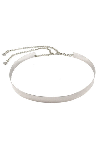 VIVIEN BELT - SILVER - Fashion Flash Boutique
