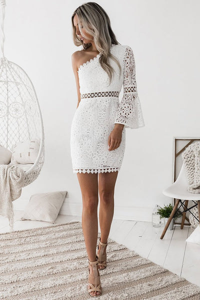 ELYSIAN DRESS - WHITE - Fashion Flash Boutique