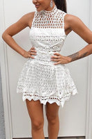 HVAR DRESS - WHITE - Fashion Flash Boutique