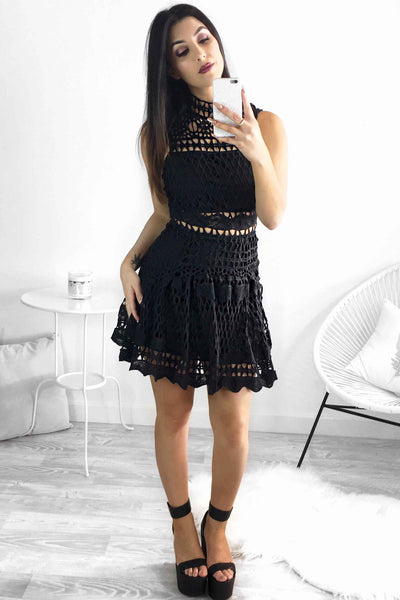 HVAR DRESS - BLACK - Fashion Flash Boutique