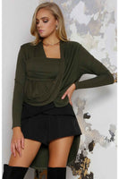 JASPAR KNIT  – KHAKI - Fashion Flash Boutique