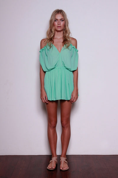 WATERFALL PLAYSUIT - Fashion Flash Boutique