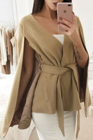 MUSE CAPE - CAMEL - Fashion Flash Boutique