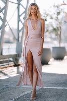 Natalia Dress - Mauve - Fashion Flash Boutique
