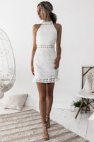 RIVIERA DRESS - WHITE - Fashion Flash Boutique