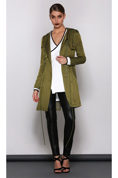 SMOKESCREEN JACKET - Fashion Flash Boutique