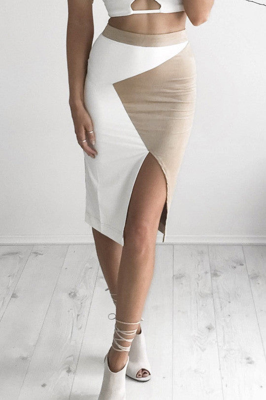 Selena Suede Skirt - Fashion Flash Boutique
