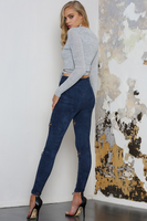 VIXEN PANTS - NAVY - Fashion Flash Boutique
