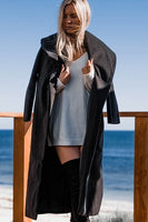 HAMILTON COAT - BLACK - Fashion Flash Boutique