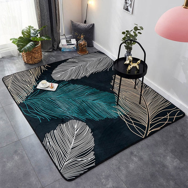 Tapis <br> Design feuille