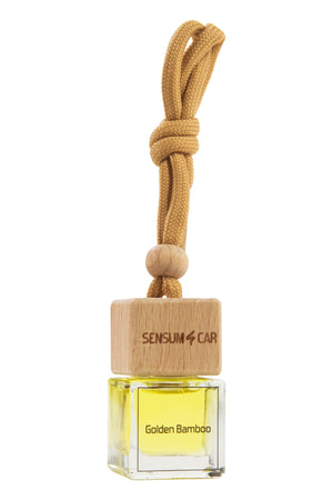 SENSUM CAR Luxury Perfume with hanging bottle - FANTASTIC GOLDEN BAMBOO