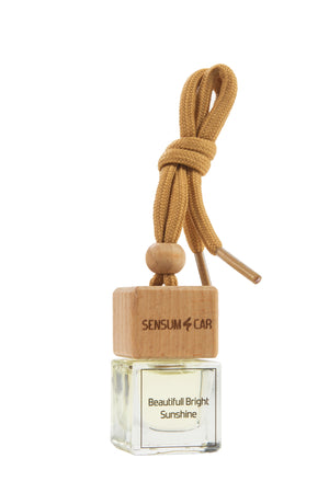 SENSUM CAR Luxury Perfume with hanging bottle - BEAUTIFULL BRIGHT SUNSHINE
