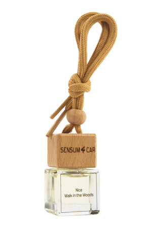 SENSUM CAR Luxury Perfume with hanging bottle - NICE WALK IN THE WOODS