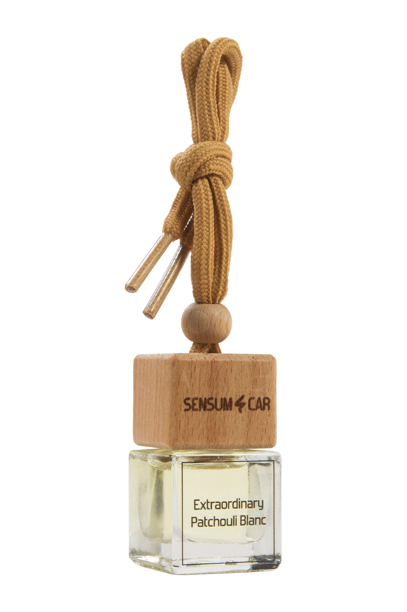 SENSUM CAR Luxury Perfume with hanging bottle - EXTRAORDINARY PATCHOULI BLANC