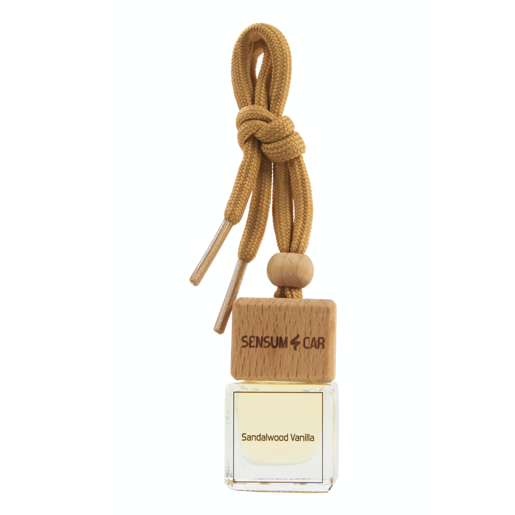 SENSUM CAR Luxury Perfume with hanging bottle - PLEASANT SANDALWOOD VANILLA