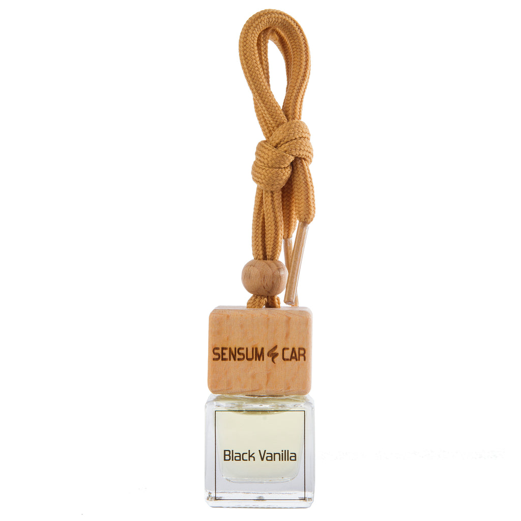 SENSUM CAR Luxury Perfume with hanging bottle - PERFECT BLACK VANILLA