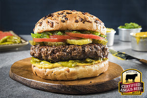 1/2 Lb Black Angus Gourmet Burgers -  4 Pack ON SALE!