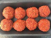 Load image into Gallery viewer, Meatballs - 8 count pack (2 0z each = 1 Lb)