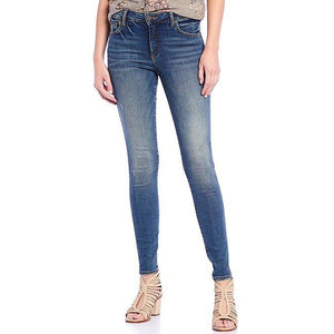 Mia High Rise Fab Ab Toothpick Skinny (Cumulated Wash)
